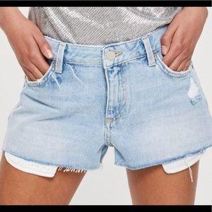 NWT TopShop denim shorts